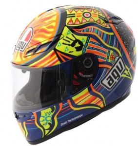 AGV GP Tech Rossi Five Continents side side-1