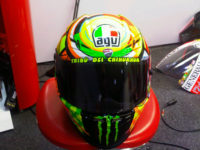 New Valentino Rossi Ducati Helmet for 2011