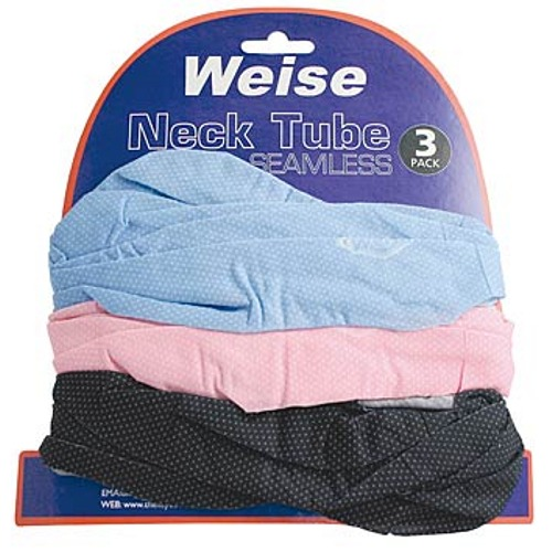 Weise 3 Pack Comfy Neck Tubes