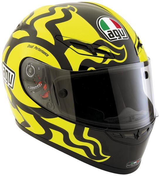 AGV GP-Tech Valentino Rossi Winter Test Helmet 2010