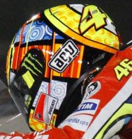 AGV GP-Tech Valentino Rossi Elements helmet