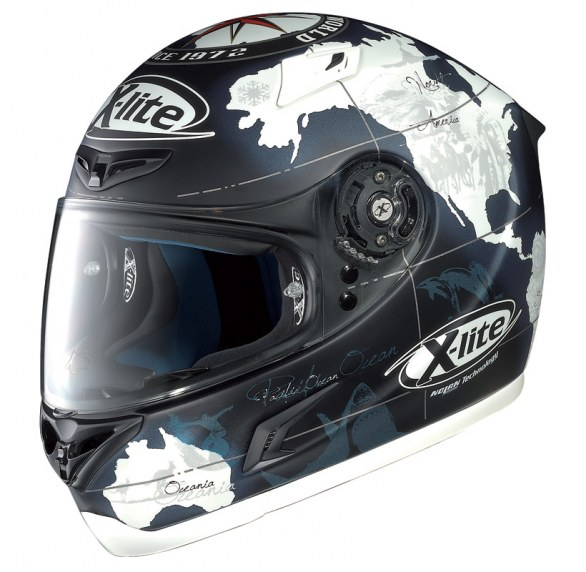 New X-Lite X802 Carlos Checa helmet in Black