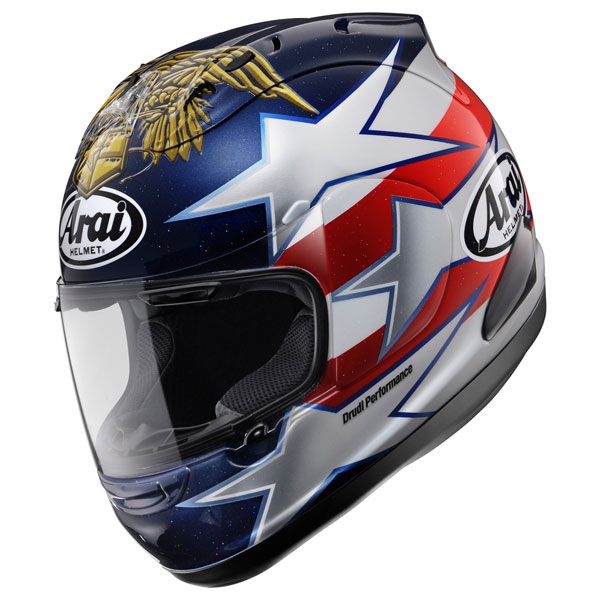 Arai Edwards Indianapolis Helmet