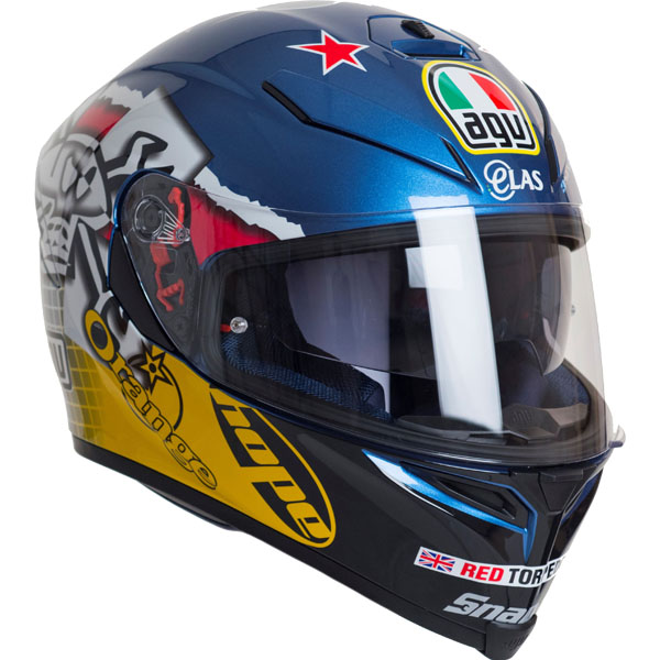 Guy Martin AGV K5 3Some Replica Helmet