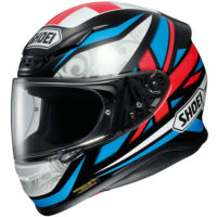 Bradley Smith Shoei NXR replica helmet