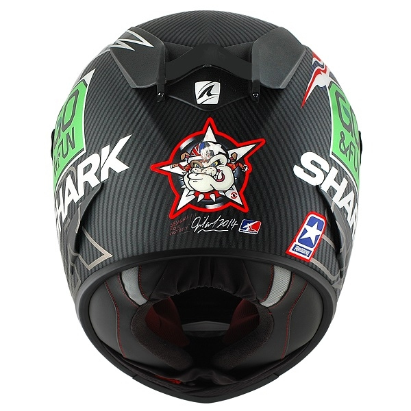 scott redding shark race r pro carbon go fun helmet replica race helmets. Black Bedroom Furniture Sets. Home Design Ideas