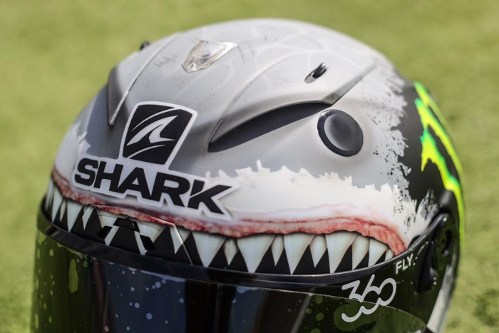 Jorge Lorenzo 'Shark' helmet for Aragon | Replica Race Helmets