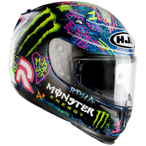 jorge lorenzo hjc r pha10 plus graffiti helmet replica. Black Bedroom Furniture Sets. Home Design Ideas