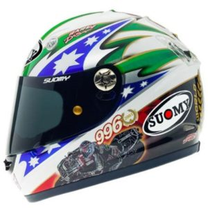 Suomy Vandal Troy Bayliss World Championship Helmet