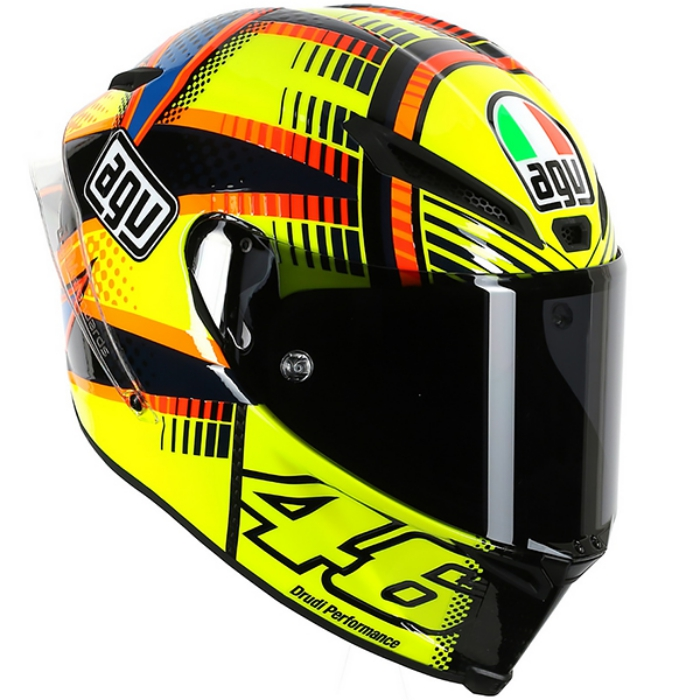 valentino rossi agv pista gp soleluna qatar helmet. Black Bedroom Furniture Sets. Home Design Ideas