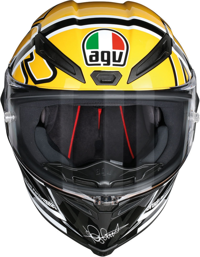 valentino rossi agv corsa goodwood helmet replica race helmets. Black Bedroom Furniture Sets. Home Design Ideas