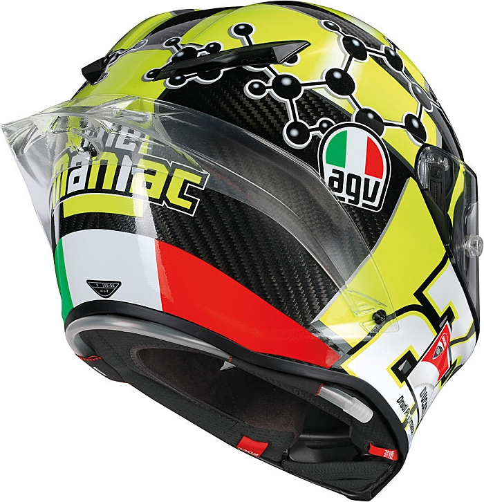 andrea iannone agv pista gp r carbon replica race helmets. Black Bedroom Furniture Sets. Home Design Ideas