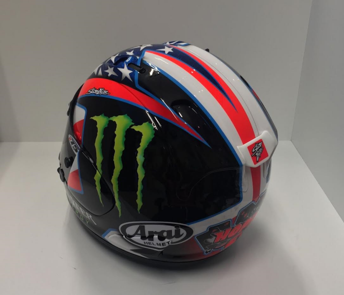John Hopkins 2016 British Superbikes Helmet