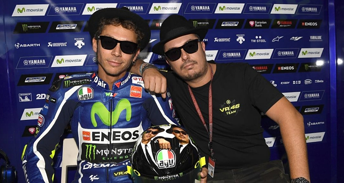 Valentino Rossi and Uccio