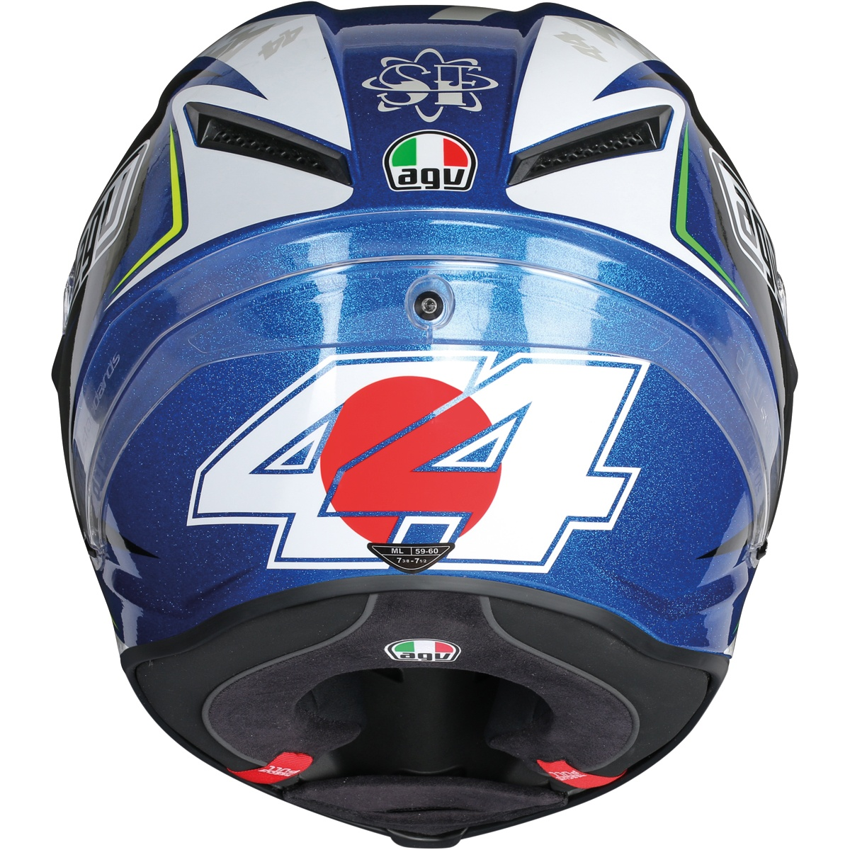 pol espargar agv corsa r 8h suzuka helmet 2015 replica race helmets. Black Bedroom Furniture Sets. Home Design Ideas