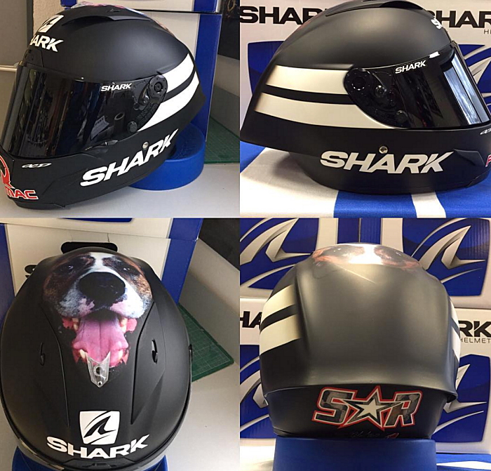 Scott Redding 2017 Sepang MotoGP Winter Test helmet