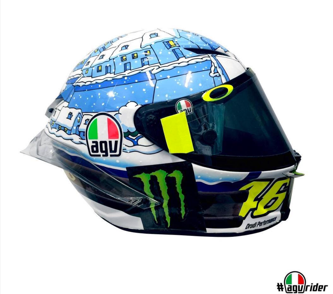 Valentino Rossi S Sepang 2017 Winter Test Helmet Replica