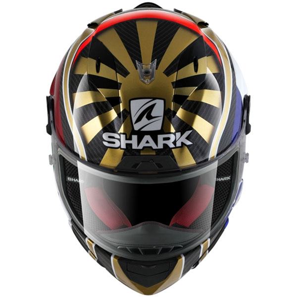johann zarco shark race r pro carbon helmet replica race helmets. Black Bedroom Furniture Sets. Home Design Ideas