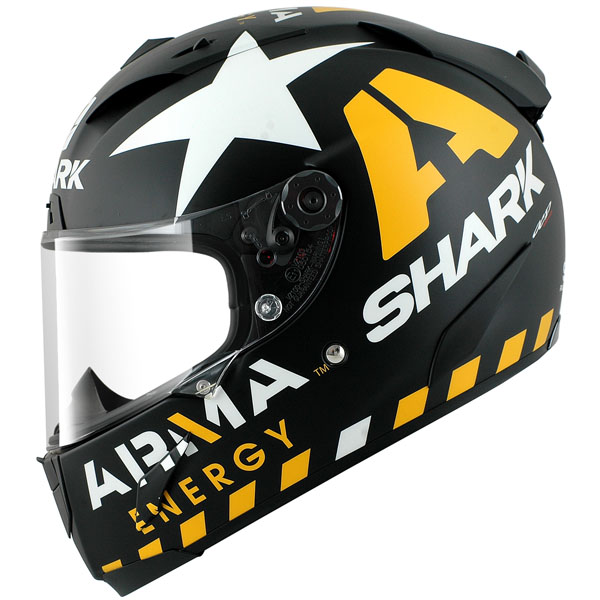 scott redding shark race r pro helmet replica race helmets. Black Bedroom Furniture Sets. Home Design Ideas