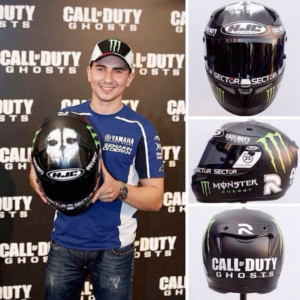 Jorge Lorenzo call of duty