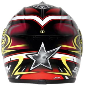 Max Biaggi Suomy Excel Pirate Helmet