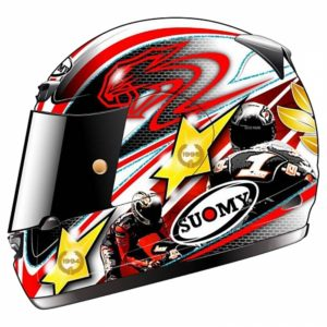 Max Biaggi Suomy Apex Limited Edition Helmet