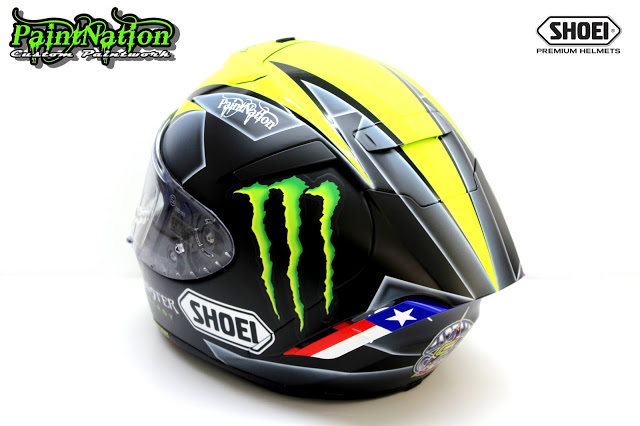 James Ellison's 2016 British Superbike helmet