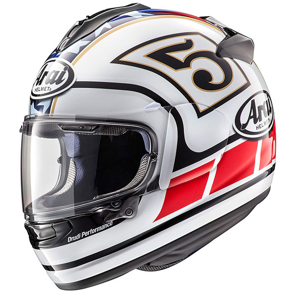 colin edwards arai chaser x helmet white replica race. Black Bedroom Furniture Sets. Home Design Ideas
