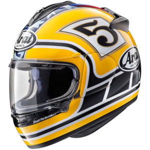 Arai Chaser X - Edwards Legend Yellow