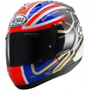 Leon Haslam 'Tracks' helmet (Limited Edition)