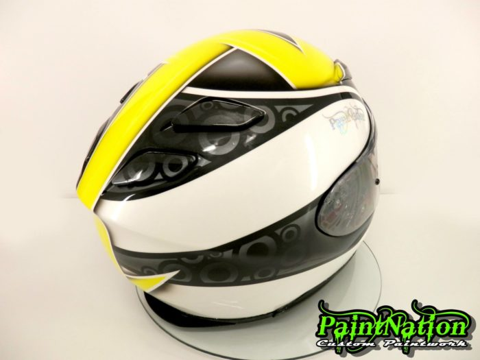 Dave Brook 2014 Shoei helmet