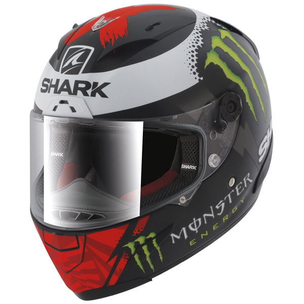 jorge lorenzo shark race r pro monster helmet replica race helmets. Black Bedroom Furniture Sets. Home Design Ideas